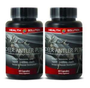 Deer Antler Plus netle root gingeng saw palmeto solution
