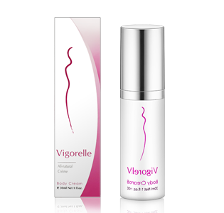 Vigorelle leading female libido enhancement product all-natural herbal cream activated by touch