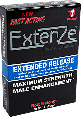 Extenze package fast acting formula male enhancement pills