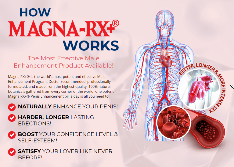 How magna rx+ works potent effective male enhancement 100 percent natural