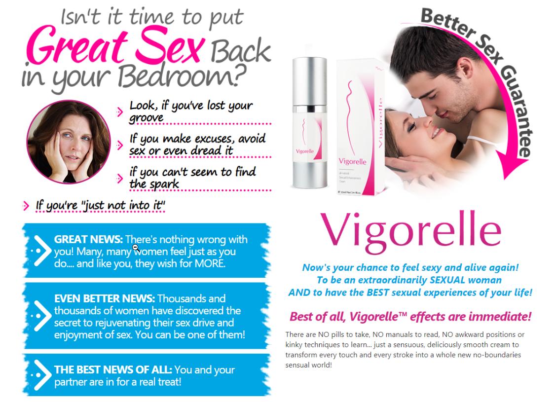 Vigorelle website immediate effects sexual enhancement for females